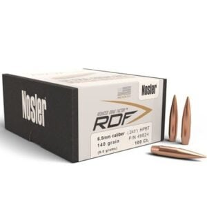 Nosler .264 / 6.5mm 140 Grain Hollow Point Boat Tail RDF (Reduced Drag Factor) (100)