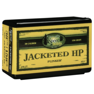 Speer .357 / 38 158 Grain Jackted Hollow Point (100)