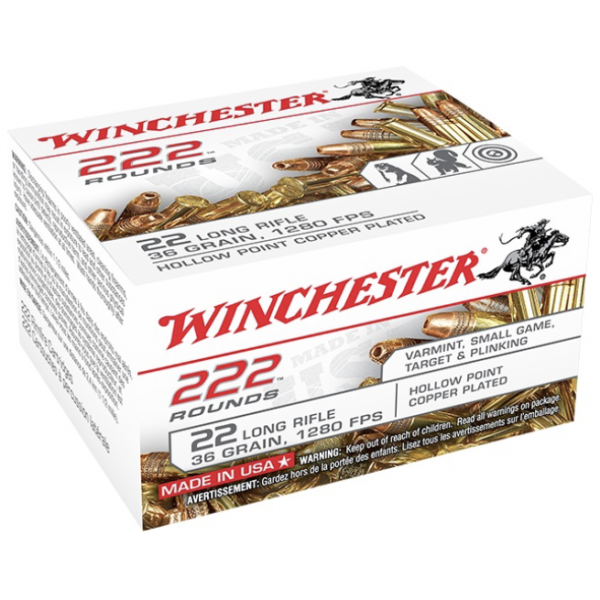Winchester Ammo 22Lr 36 Grain Hollow Point (222)