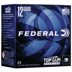"Federal Ammo 12 Ga 1 1/8 Oz #8 2 3/4"" Top Gun (25)"