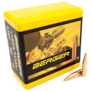 Berger .264 Caliber / 6.5mm 153.5 Grain Long Range Hybrid Target Bullet