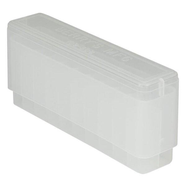Berrys Ammo Box 243/308 Slip Top 20 #109 Clear 50/Cs