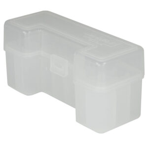 Berrys Ammo Box 45/70 Hinged Top 20 #111 Clear 50/Cs