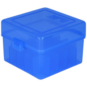 Berrys Ammo Box 20 Ga 3 Hinged Top 25 Blue 25/Cs