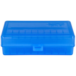 Berrys Ammo Box 454/50 Ae Hinged Top 50 Blue 50/Cs