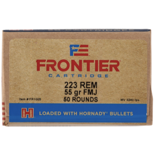 Frontier 223 Rem 55 Gr Full Metal Jacket (50)