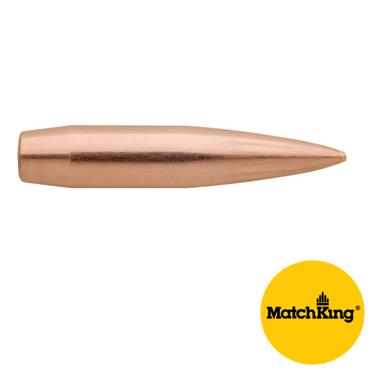 Sierra .264 / 6.5mm 130 Grain Hollow Point Boat Tail MatchKing