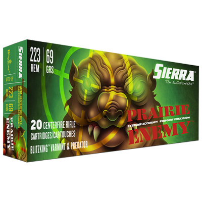 Sierra 223 Rem 69 Grain BlitzKing Ammunition (20 Rounds)